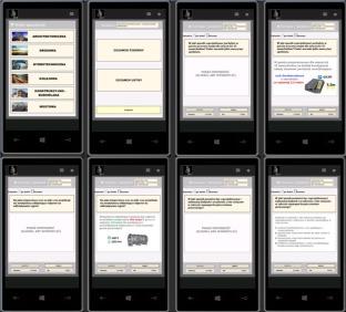Program w wersji na telefon / tablet - tryb Egzamin Ustny