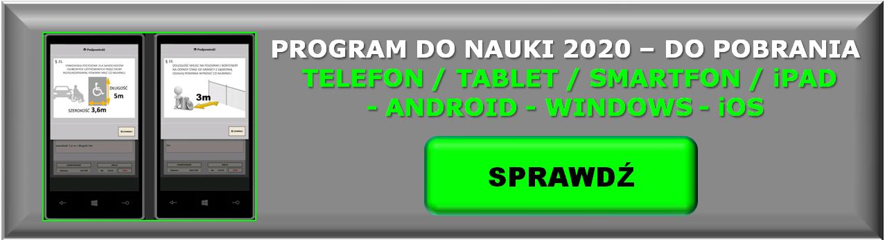 Obraz program do nauki - Urządzenia mobilne